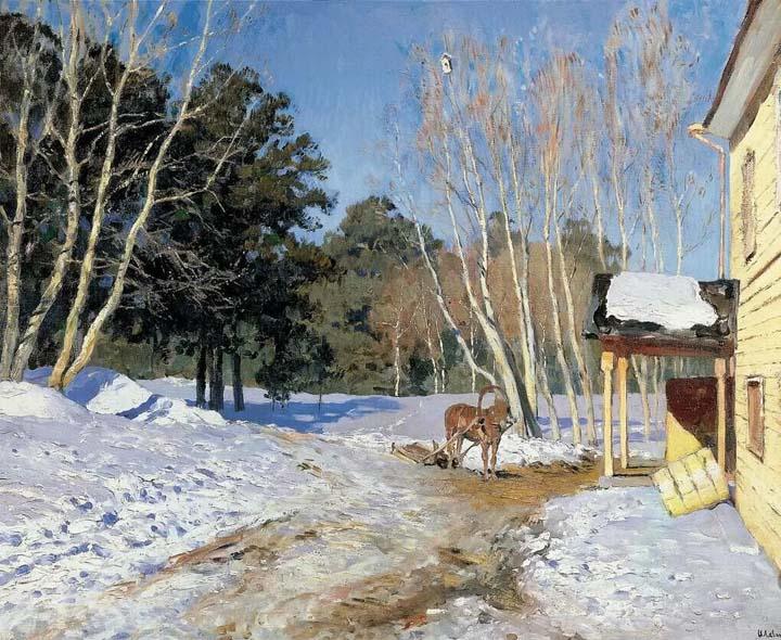 Картина Март Левитан